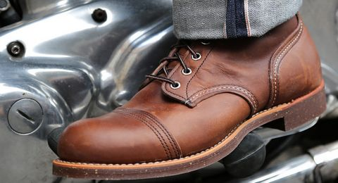 Leather Boot For Men's