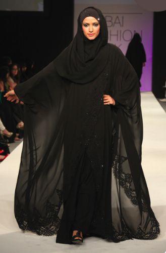 * خليجية *: Abayat from an Emirati Designer - Amal Murad