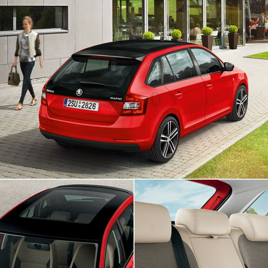 Son Model skoda rapid spaceback