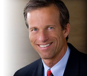 Rep. Senator John Thune from SD is among those GOP men leading the charge to kill the Violence Against Women Act  - he says the Senate are too busy (to vote on VAWA) and need to move onto other more important matters.