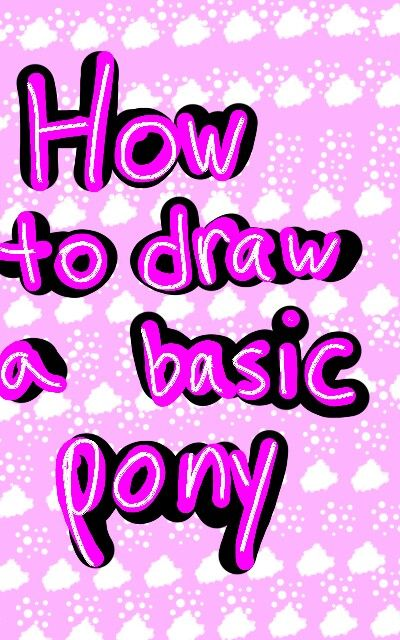 134 best mlp pony drawing images on Pinterest Drawing stuff - basic p&l template