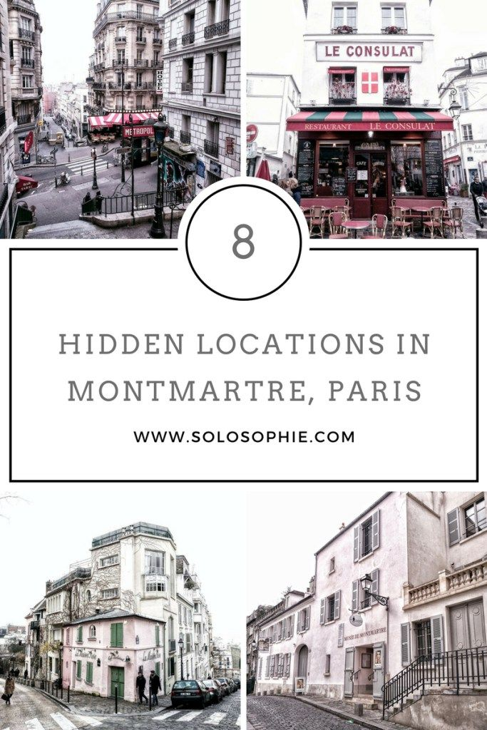 guide to montmartre