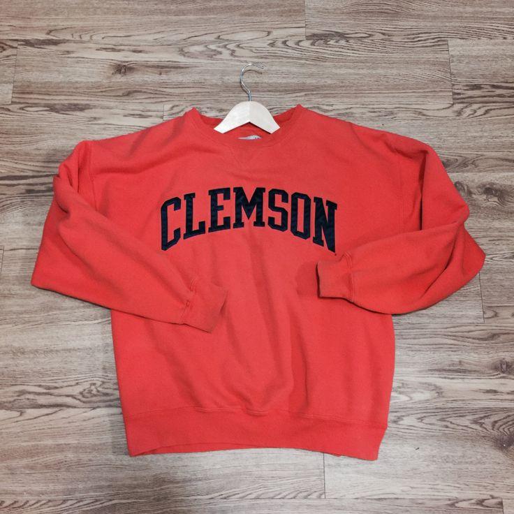 Vintage Clemson Tiger Crewneck Sweatshirt by VNTGvault on Etsy