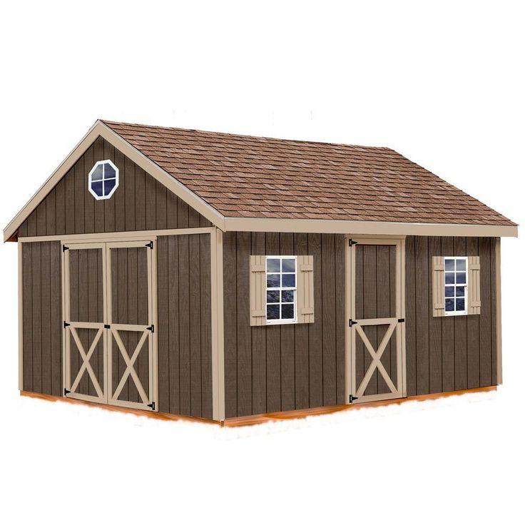 best barns easton 12 ft x 16 ft wood storage shed kit easton_1216
