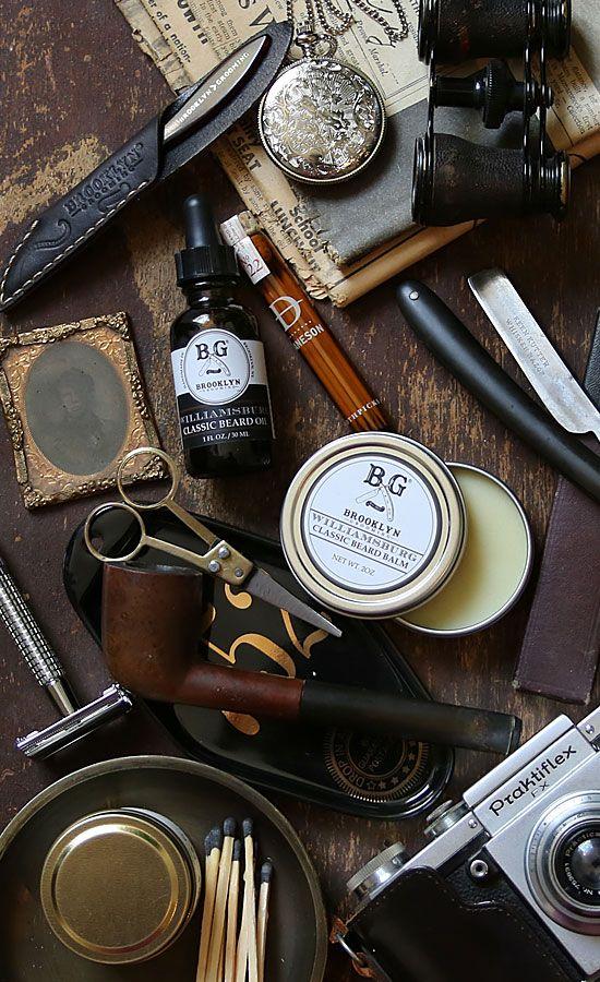 Men's essentials by Brooklyn Grooming -Beard Oil -Classic Beard Balm -Beard Comb