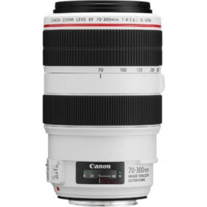 CANON EF 70-300/4-5.6 L IS USM Tele zoom lens.
