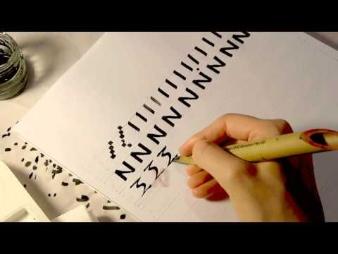 ▶ Ancient Calligraphy: Greek Uncial ca. 350 AD - YouTube