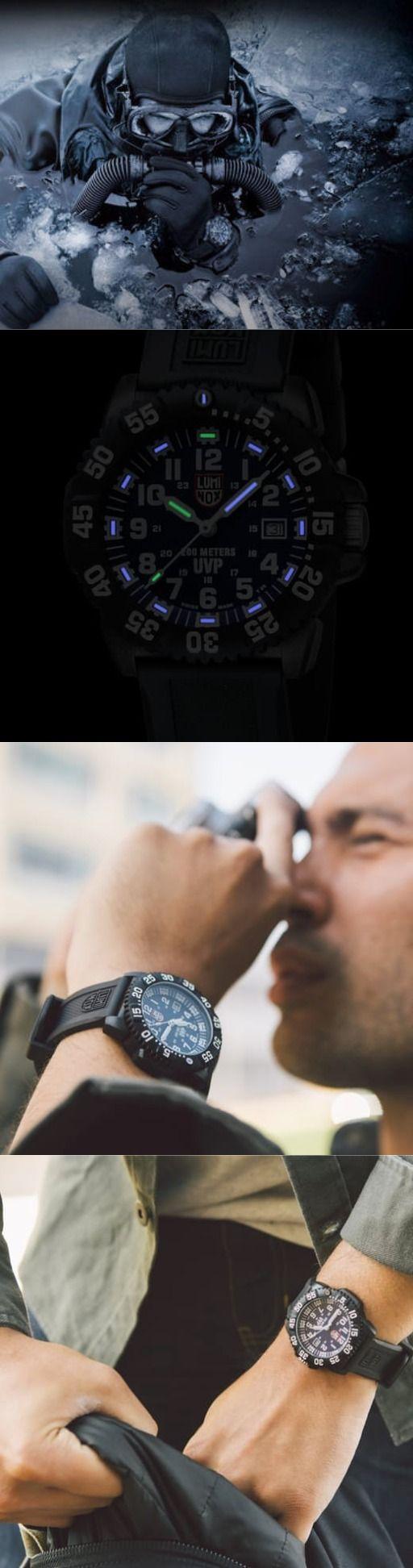 Luminox NAVY SEAL COLORMARK Men's Tactical Watch in Navy