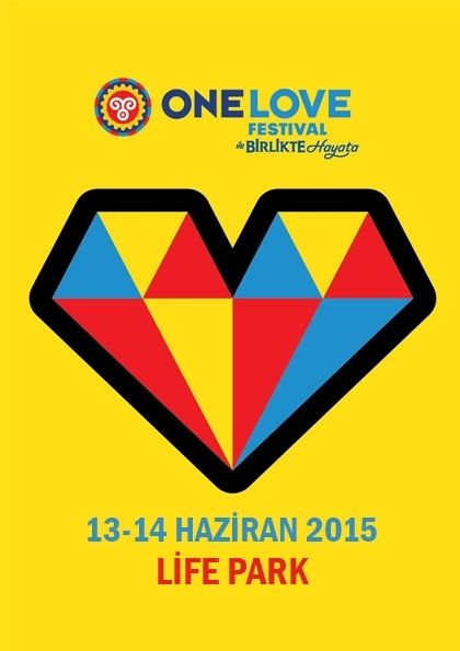 Türkiye'nin en uzun soluklu şehir festivali One Love Festival, Hayat Bu Kapağın Altında desteğiyle, Pozitif Live tarafından 13-14 Haziran tarihlerinde LifePark'ta gerçekleştirilecek. #onelovefestival #onelove