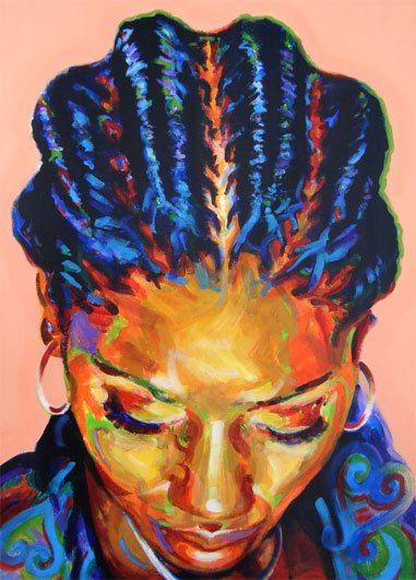 Ken Yahw Mccalla In 2019 Black Women Art Natural Hair