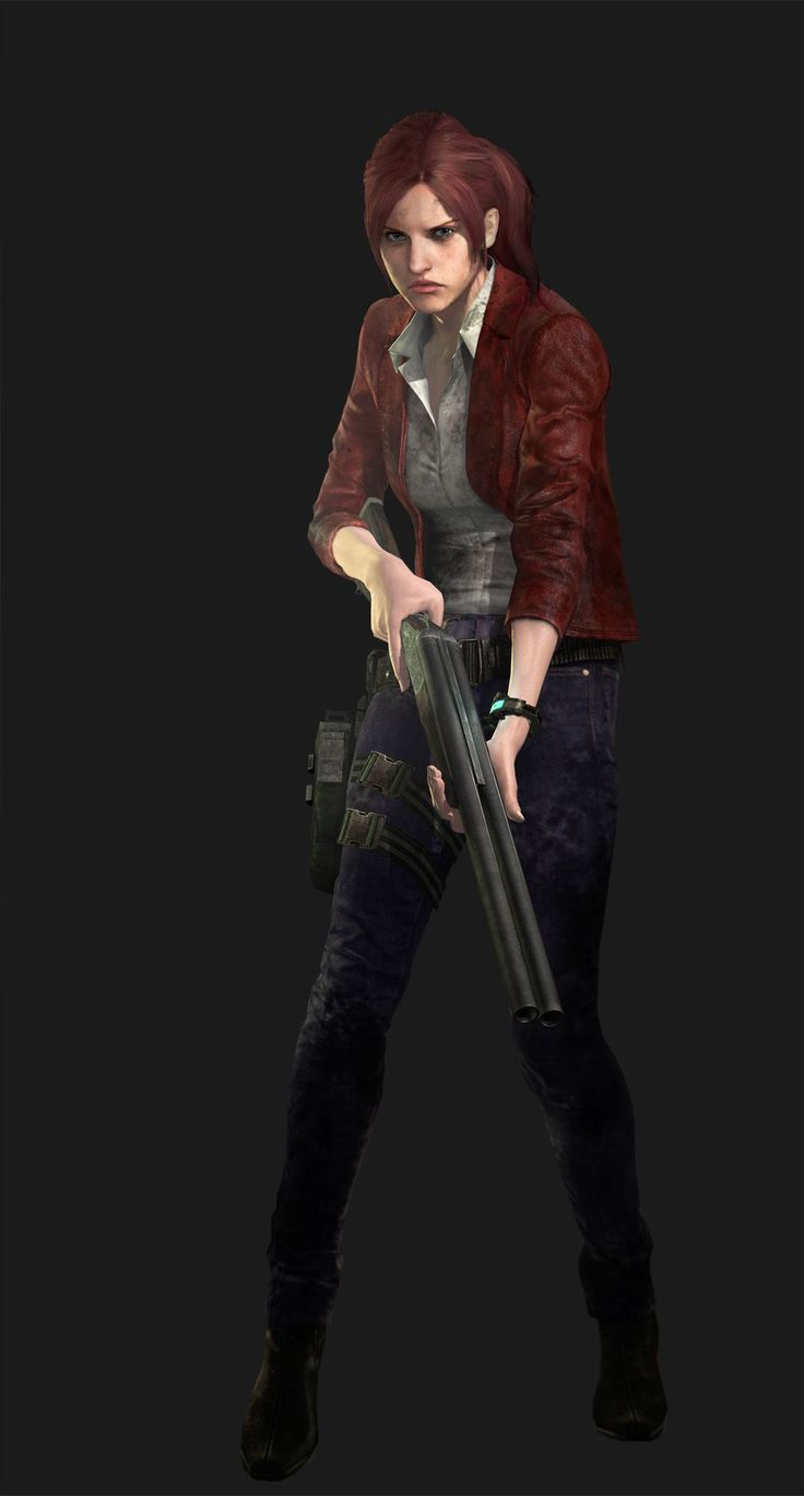 Claire Redfield - Resident Evil Revelations 2 She's had enough of prison islands and creepy things trying to kill her. don't get in her way ;)