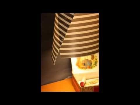 Blanca cono di luce.  Lampada autoprodotta e visibile presso IDEA via Padre Kolbe, 66 Pesaro