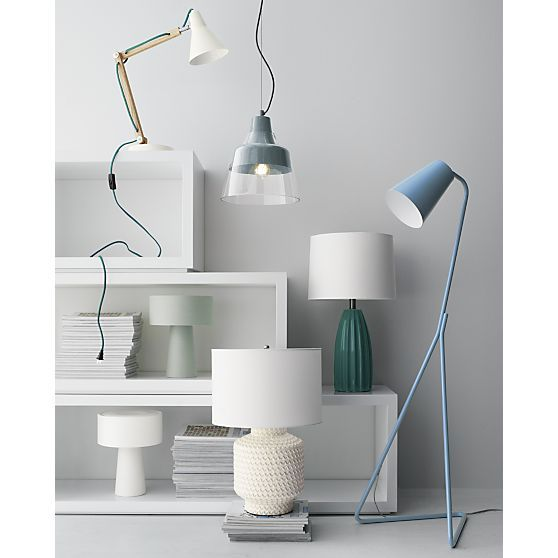 Best & Buys Lamps | Crate and Barrel - 125 Best Home Lighting Images On Pinterest Crates, Fabric Shades