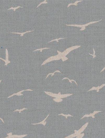 Seagulls, Stone Blue - Peony  Sage