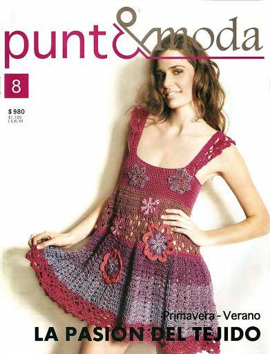 Moda Knitting Books : Best mags punto e moda images on pinterest crochet