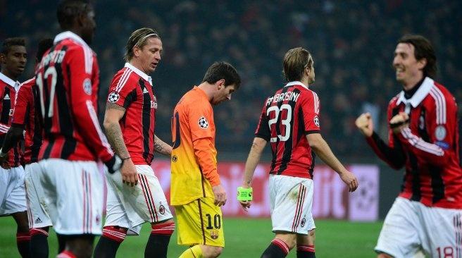 Milan 2 - 0 Barca