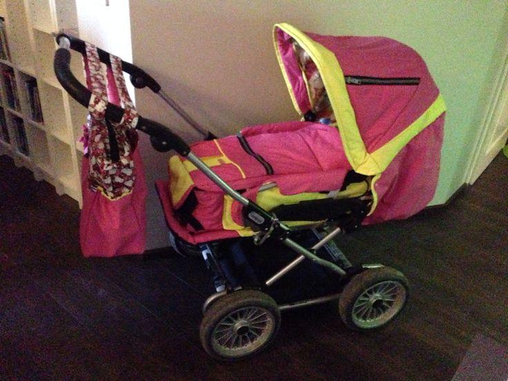 Self made Lovely Baby carriage/ itse tehdyt Ihanat Vauvan vaunut