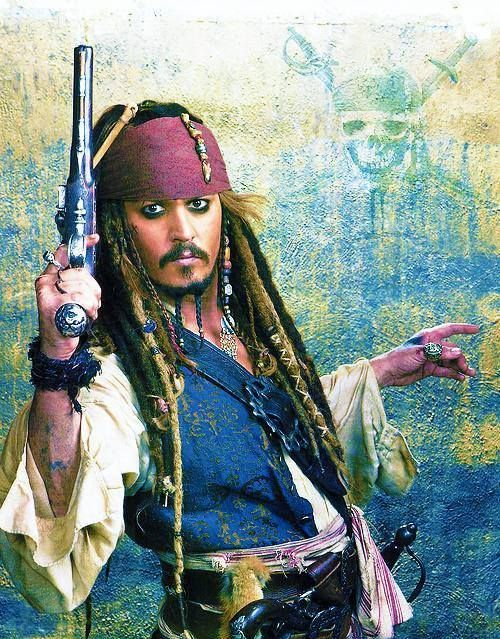 "Captain Jack Sparrow (Pirates of the Carribeans) ""Why is the rum always gone?"""