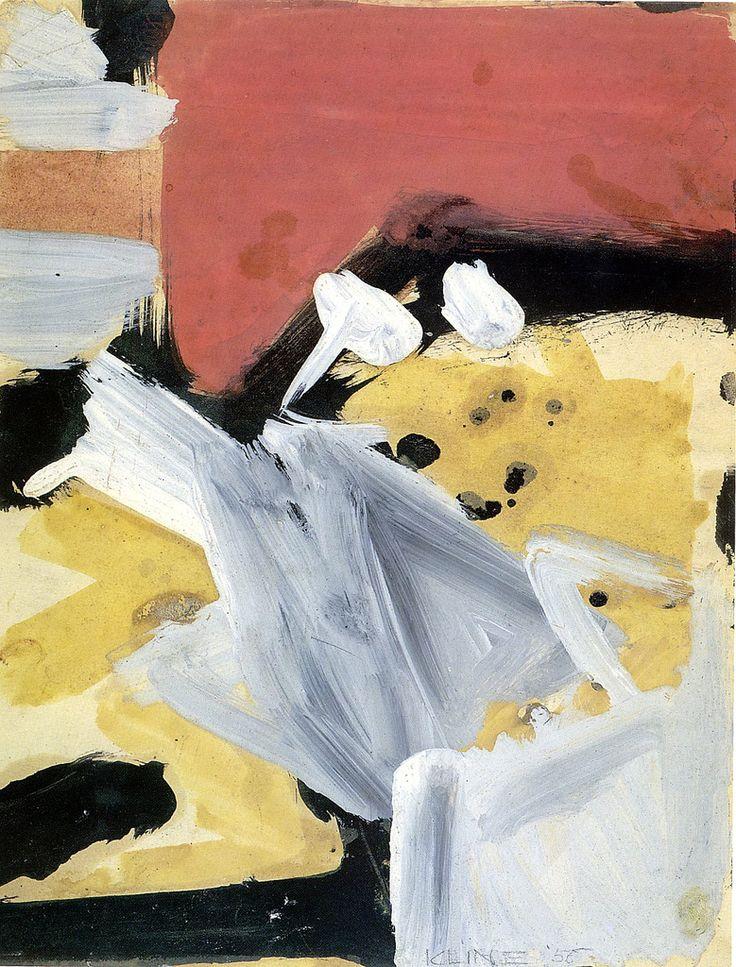 Franz Kline - Untitled, 1956 | Flickr - Photo Sharing!