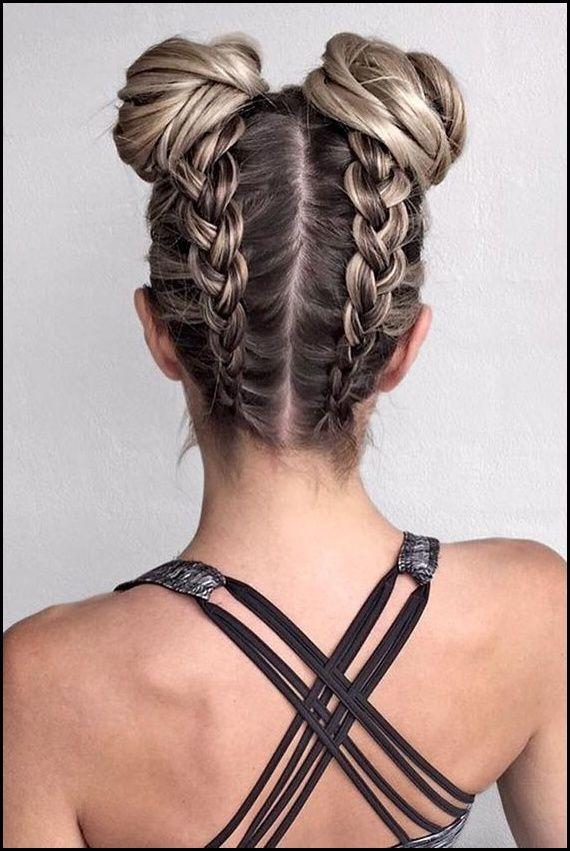 Haare Flechten Seitlich Am Kopf Anleitung Hairstyle Frisuren