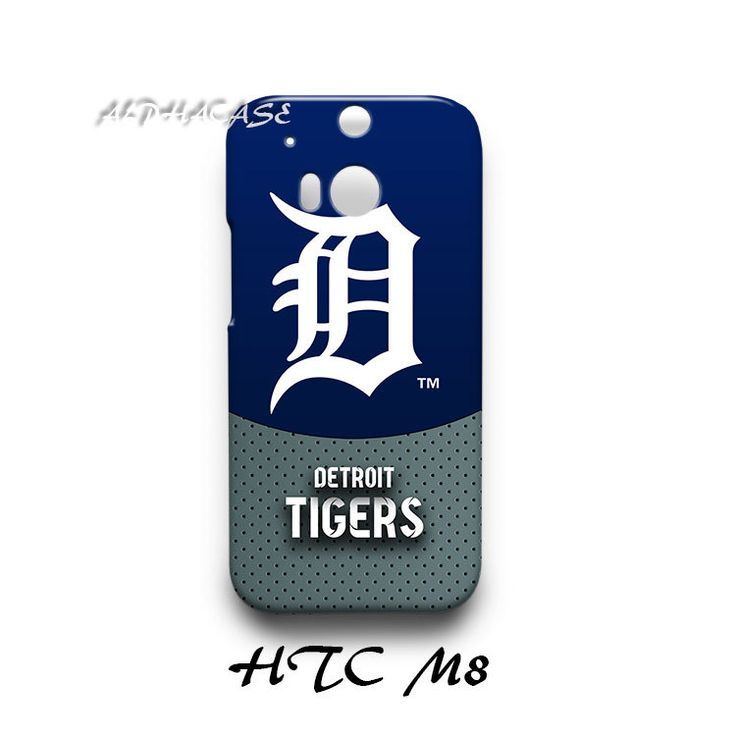 Detroit Tigers HTC M8 Hardshell Case Cover