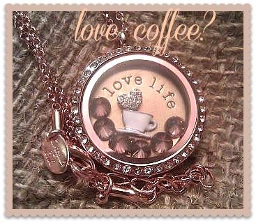 Coffee Lover? Memory Keepers ~ Origami Owl Living Lockets ~ Bren Yule