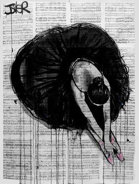 "Saatchi Art Artist Loui Jover; Drawing, ""prima ballerina"" #art"