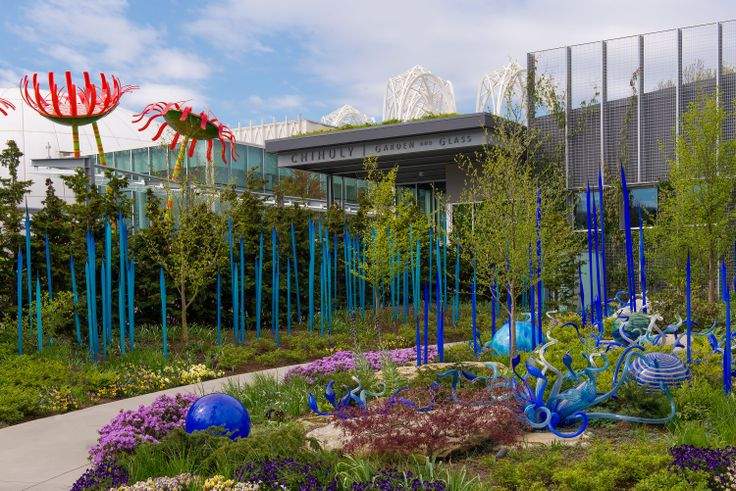 Chihuly Garden and Glass Gallery in Seattle #blurrdMEDIA #architecture #photography