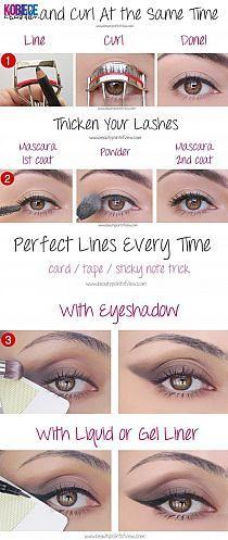Trzy tricki makijażowe