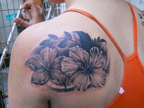 38 Hibiscus tattoo
