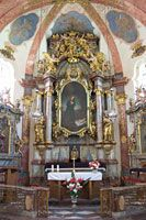 High altar in the Church of the Nativity of Our Lord, Loreto