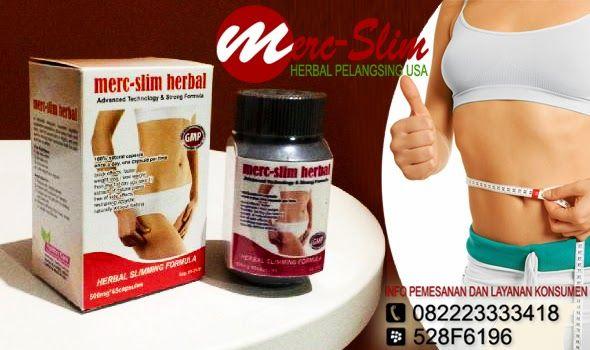Kelebihan dan Keunggulan Pelangsing Merc-Slim Herbal USA