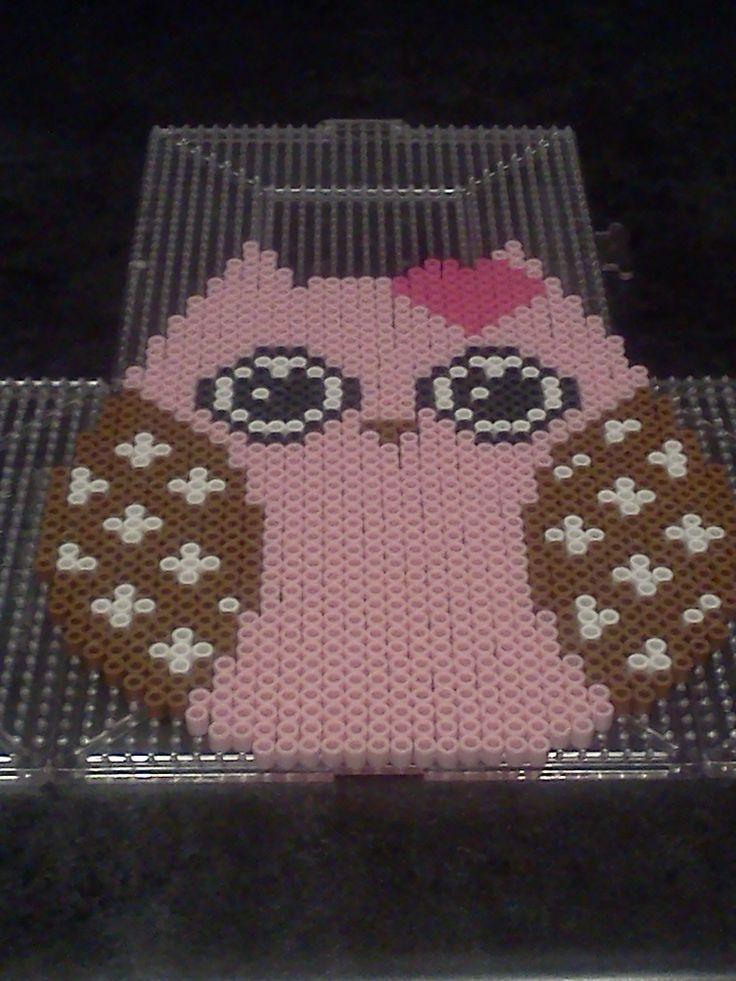 Owl perler bead sprite