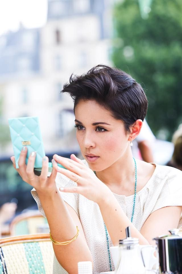 Repost from @kinagrannis Facebook : She have the most awesome hair style!