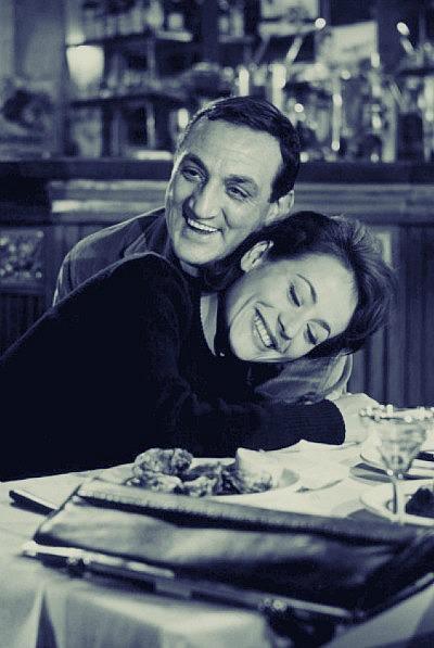 Annie Girardot et Lino Ventura