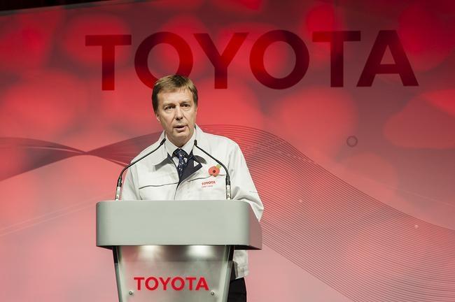 Otwarcie linii produkcyjnej nowej Toyoty Auris