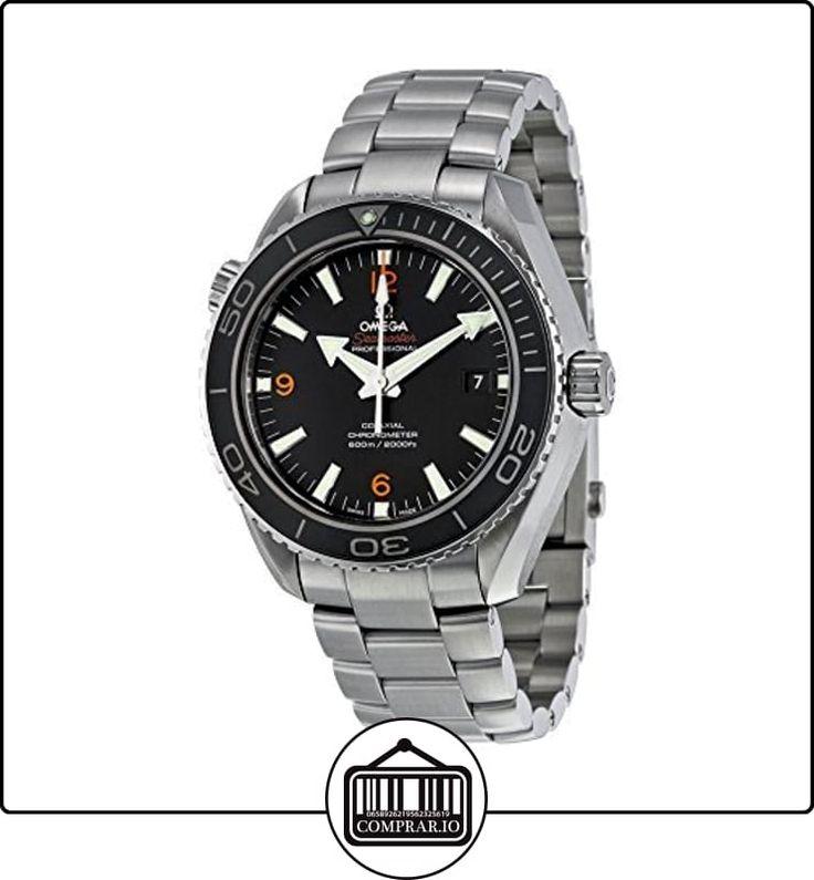 Omega 232.30.46.21.01.003del hombre planeta océano grande tamaño negro Dial reloj por Omega de  ✿ Relojes para hombre - (Lujo) ✿