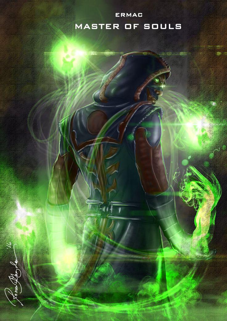 Mortal Kombat X Ermac-Master of Souls Variation by Grapiqkad.deviantart.com on @DeviantArt