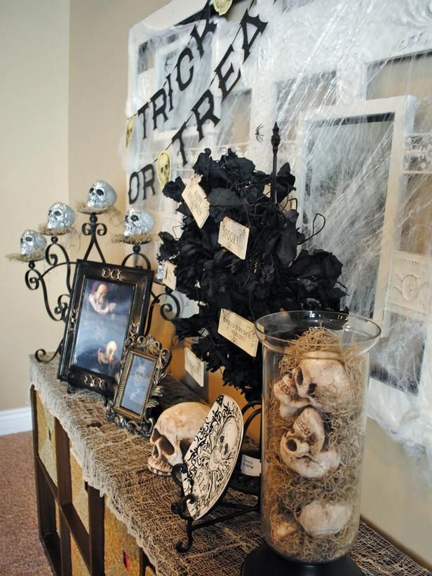 33 best Halloween images on Pinterest Halloween ideas, Halloween - halloween house decorating ideas