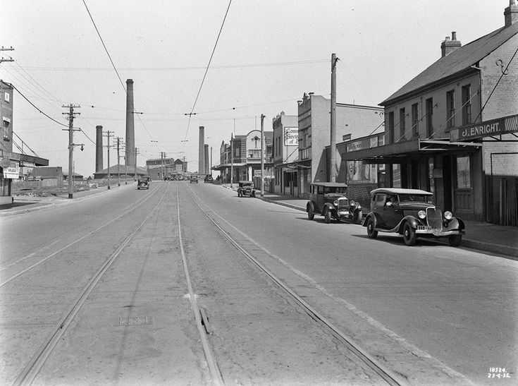 Cooks River Road St Peters August 1935