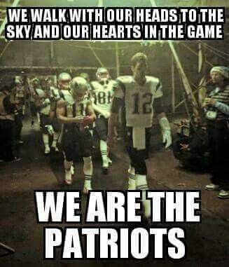 We are The #Patriots