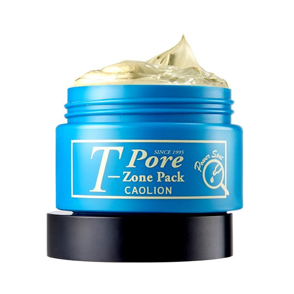 T-Zone Pore Pack (Green) Nourishes irritated, uneven skin  in especially concerned areas #caolion #caolionusa #nature #beauty #natural #skin #skincare #cosmetics #pore #pack #masque #mask #tzone #homecare #facial #korea #seoul #usa #카오리온 #화장품 #뷰티 #팩 #모공