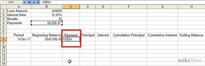 Prepare Amortization Schedule in Excel Amortization schedule and - amortization table in excel