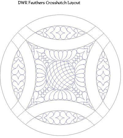 double wedding ring quilt pattern | Shop | Category: DWR Double Wedding Ring | Product: DWR feathered ...
