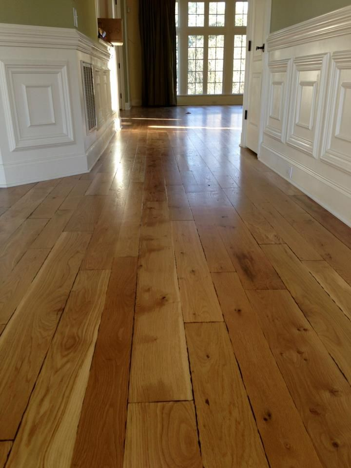 hand crafted rustic white oak flooring GreenStep