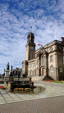 South Shields Town Hall, UK