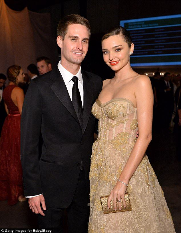 Snapchat founder Evan Spiegel has reportedly married his fiance