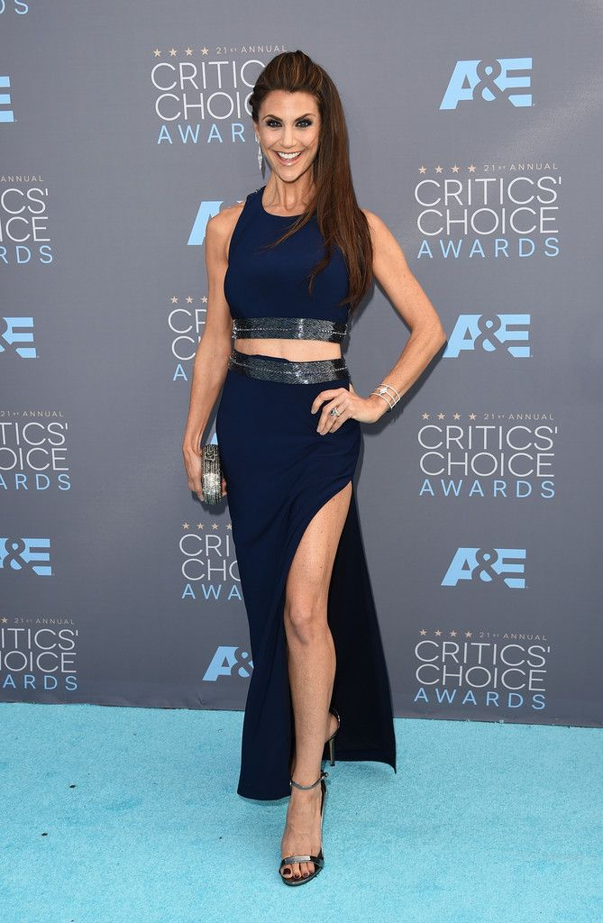Fabulously Spotted: Samantha Harris Wearing Mignon - 2016 Critics' Choice Awards - http://www.becauseiamfabulous.com/2016/01/18/fabulously-spotted-samantha-harris-wearing-mignon-2016-critics-choice-awards/