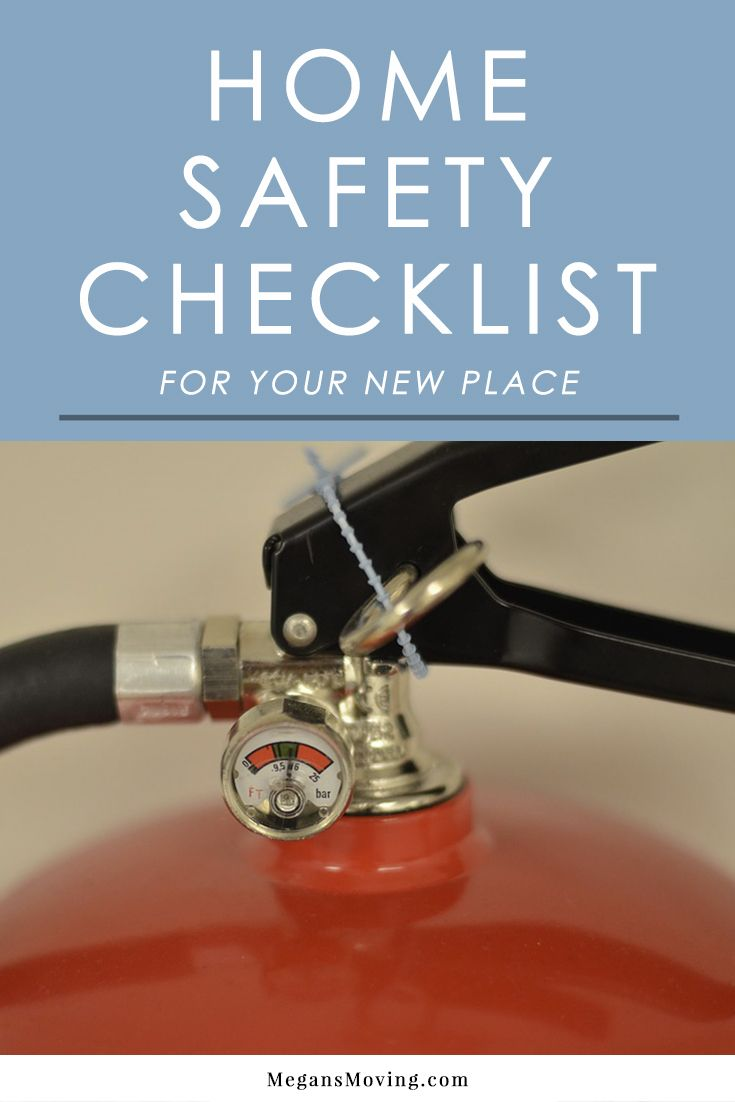 When you move into a new home, one of the biggest priorities is making sure it is safe and secure. Follow this safety checklist for moving to make it easy!