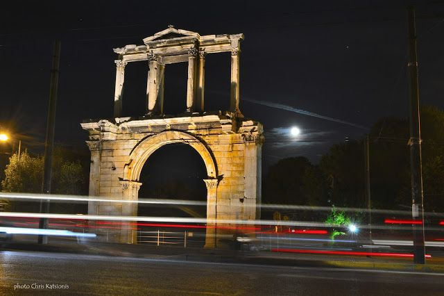 Travel in Clicks: Hadrian's Arch of Triumph in Athens